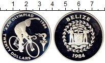 Изображение Монеты Белиз 20 долларов 1984 Серебро Proof