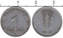 Изображение Монеты ГДР 1 пфенниг 1948 Алюминий XF
