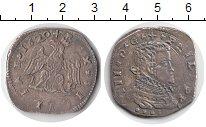 Изображение Монеты Италия Сицилия 4 тари 1620 Серебро VF