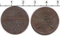 Изображение Монеты Франция 10 соль 1708 Медь VF