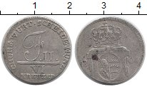 Изображение Монеты Германия Вюртемберг 6 крейцеров 1804 Серебро VF