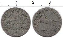 Изображение Монеты Германия Брауншвайг-Вольфенбюттель 1 мариенгрош 1806 Серебро VF