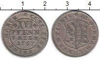 Изображение Монеты Германия Анхальт-Зербст 16 пфеннигов 1767 Серебро XF