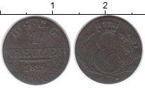 Изображение Монеты Германия Саксе-Кобург-Гота 1 крейцер 1829 Серебро VF