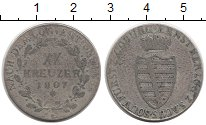 Изображение Монеты Германия Саксен-Кобург-Саалфелд 20 крейцеров 1807 Серебро VF