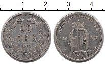 Изображение Монеты Европа Швеция 50 эре 1881 Серебро XF