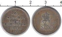 Изображение Монеты Шлезвиг-Гольштейн 8 шиллингов 1819 Серебро XF IFF