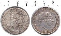 Изображение Монеты Великобритания 1/2 кроны 1818 Серебро XF