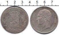 Изображение Монеты Бельгия 5 франков 1850 Серебро XF