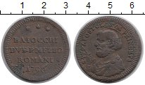 Изображение Монеты Европа Ватикан 2 1/2 байоччи 1796 Медь VF