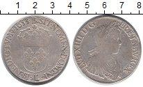 Изображение Монеты Европа Франция 1 экю 1653 Серебро VF