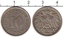 Изображение Монеты Европа Германия 10 пфеннигов 1900 Медно-никель XF