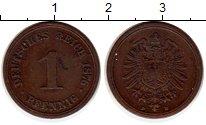 Изображение Монеты Германия 1 пфенниг 1876 Медь XF