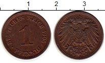 Изображение Монеты Германия 1 пфенниг 1905 Медь XF