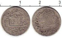 Изображение Монеты Африка Марокко 1/2 дирхама 1896 Серебро VF