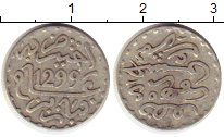 Изображение Монеты Марокко 1/2 дирхама 1882 Серебро XF