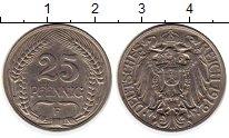 Изображение Монеты Европа Германия 25 пфеннигов 1912 Медно-никель XF