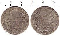 Изображение Монеты Германия Мюнстер 6 марьенгрош 1715 Серебро VF