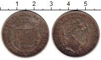 Изображение Монеты Германия Саксония 1/3 талера 1854 Серебро XF