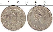 Изображение Монеты Саксония 1/3 талера 1854 Серебро XF F   Фридрих  Август