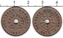 Изображение Монеты Великобритания Родезия 1/2 пенни 1939 Медно-никель XF
