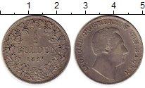 Изображение Монеты Баден 1/2 гульдена 1848 Серебро XF Леопольд
