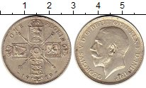 Изображение Монеты Европа Великобритания 1 флорин 1919 Серебро XF
