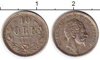Изображение Монеты Европа Швеция 10 эре 1855 Серебро XF