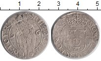 Изображение Монеты Швеция 1 эре 1596 Серебро XF