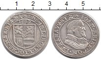 Изображение Монеты Германия Ханау-Лихтенберг 1 тестон 1609 Серебро XF