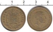 Изображение Дешевые монеты Европа Испания 1 песета 1966 Латунь XF-