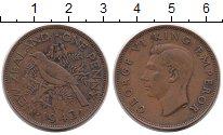 Изображение Монеты Новая Зеландия 1 пенни 1943 Медь XF