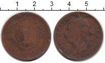 Изображение Монеты Великобритания Стрейтс-Сеттльмент 1 цент 1883 Медь VF