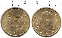 Изображение Монеты Ватикан 50 евроцентов 2012 Латунь UNC-
