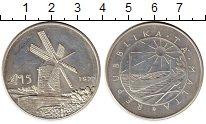 Изображение Монеты Мальта 5 лир 1977 Серебро UNC-