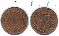 Изображение Монеты Европа Латвия 1 сантим 1939 Медь XF