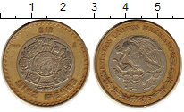 Изображение Монеты Северная Америка Мексика 10 песо 1998 Биметалл XF