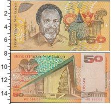 Изображение Банкноты Папуа-Новая Гвинея 50 кин 0  UNC
