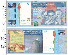 Изображение Банкноты Гватемала 200 кетцалей 2009  UNC