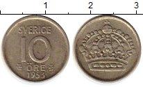 Изображение Монеты Европа Швеция 10 эре 1953 Медно-никель XF