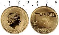 Изображение Мелочь Австралия и Океания Австралия 1 доллар 2015 Латунь UNC