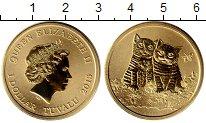 Изображение Мелочь Австралия 1 доллар 2015 Латунь UNC