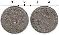 Изображение Монеты Португалия 50 сентаво 1967 Медно-никель XF