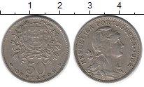 Изображение Монеты Европа Португалия 50 сентаво 1964 Медно-никель XF