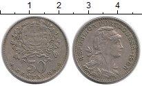 Изображение Монеты Португалия 50 сентаво 1968 Медно-никель XF