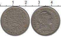 Изображение Монеты Португалия 50 сентаво 1965 Медно-никель XF