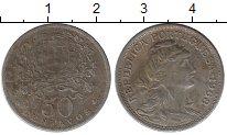 Изображение Монеты Европа Португалия 50 сентаво 1968 Медно-никель VF