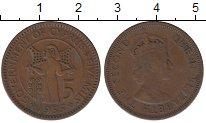 Изображение Монеты Азия Кипр 5 милс 1955 Медь XF