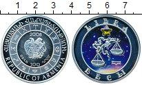 Изображение Монеты СНГ Армения 100 драм 2008 Серебро Proof