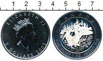 Изображение Монеты Северная Америка Канада 5 долларов 2002 Серебро UNC-